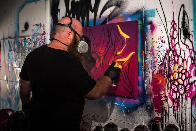 Ash painting in studio (1 of 1)-Open-Studio