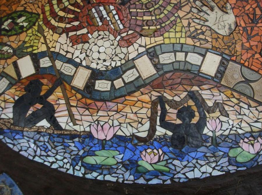 Bellingen Mosaic 3 - (c) Wendy Tanner