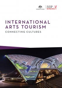 Cover International Art Tourism Australia Council for the Arts