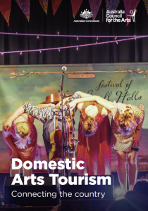 Domestic Arts Tourism Australia Council for the Arts Research