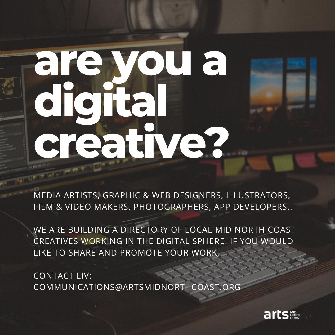 Calling Digital Creatives
