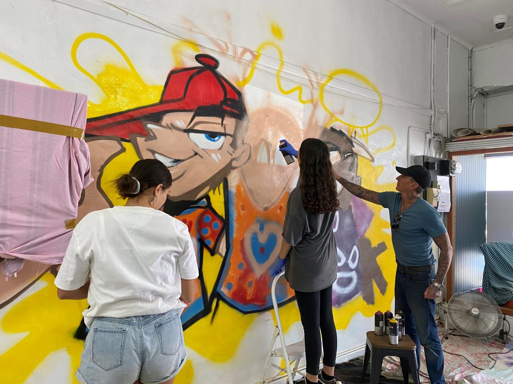 Kempsey YPSpace street art workshops