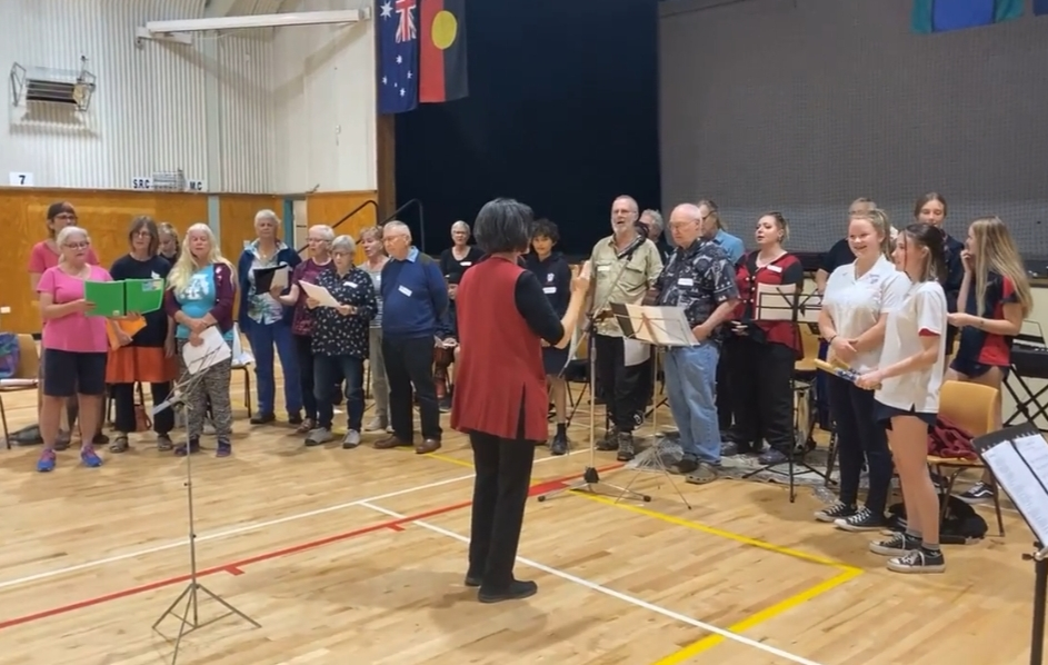 Younger & Elders in Song - Wingham