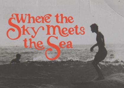 Where the Sky Meets the Sea exhibition Crescent Head