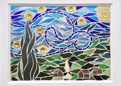 Mosaic Workshop Taree Library Arts Mid North Coast